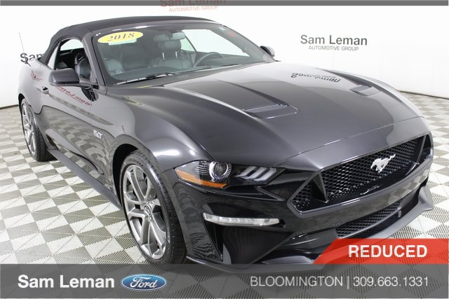 2018 Mustang Gt For Sale >> Pre Owned 2018 Ford Mustang Gt Premium Rwd 2d Convertible