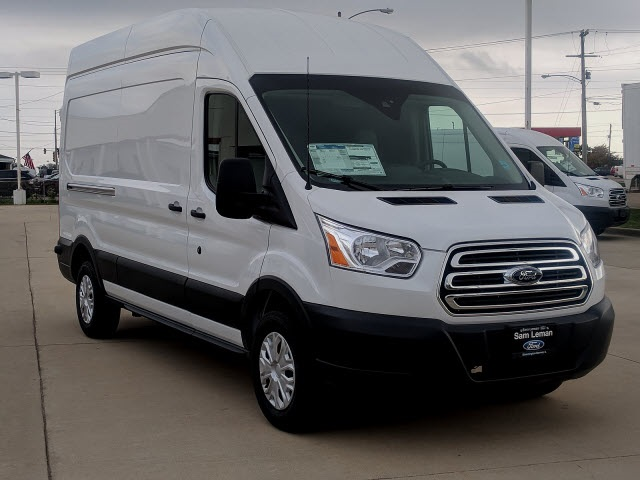 Sam Leman Morton Illinois >> New 2018 Ford Transit-350 Base 3D High Roof Cargo Van in Bloomington, Morton, Peoria #NF1837 ...