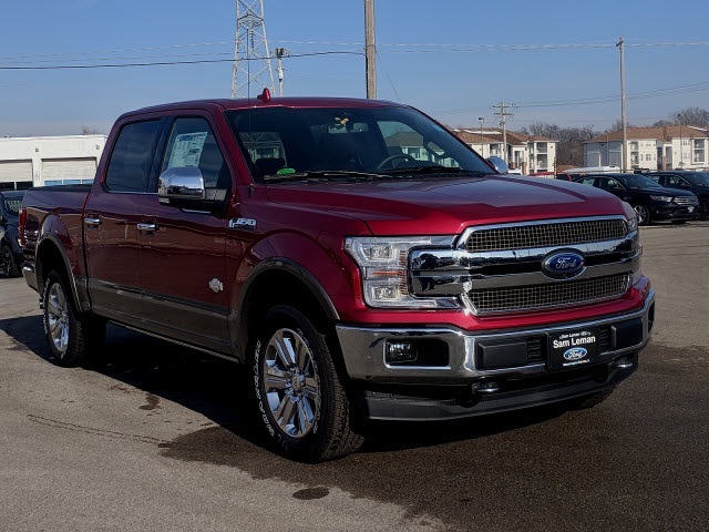 New 2019 Ford F 150 King Ranch 4d Supercrew In Bloomington Morton