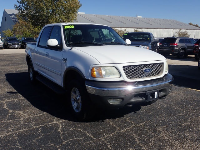 Pre-Owned 2002 Ford F-150 Super Crew XLT