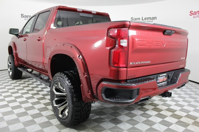 Sam Leman Chevy >> New 2019 Chevrolet Silverado 1500 RST 4D Crew Cab in Bloomington, Morton, Peoria #CV4893 | Sam ...
