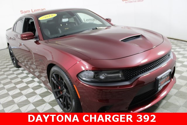 2018 Dodge Charger >> Pre Owned 2018 Dodge Charger R T 392 Rwd 4d Sedan