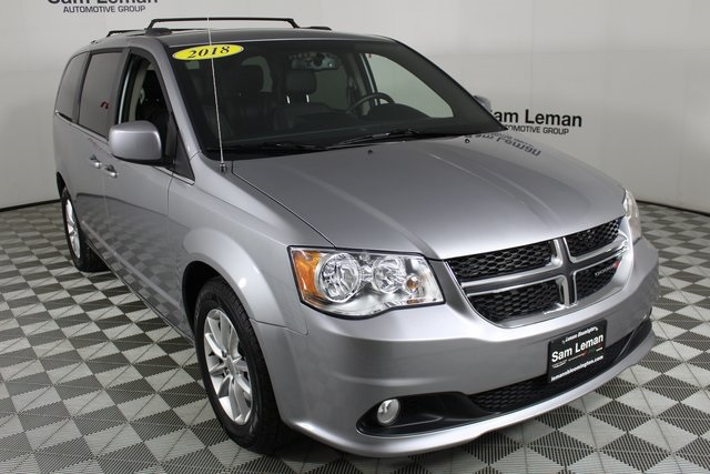 Pre Owned 2018 Dodge Grand Caravan Sxt 4d Passenger Van In