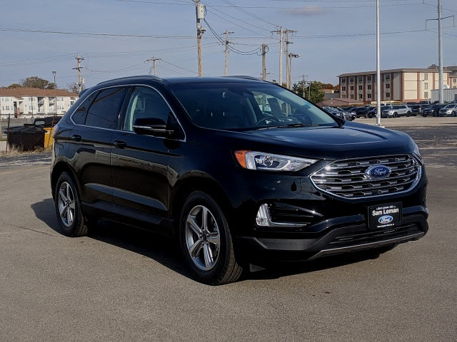 Sam Leman Morton Illinois >> New 2019 Ford Edge SEL 4D Sport Utility in Bloomington, Morton, Peoria #NF1966 | Sam Leman ...