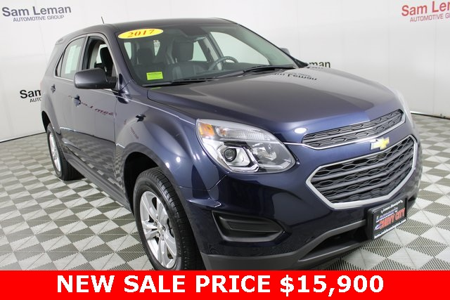 Sam Leman Chevy >> Pre Owned 2017 Chevrolet Equinox Ls Fwd 4d Sport Utility