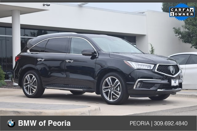 Pre Owned 2017 Acura Mdx 35l 4d Sport Utility In Bloomington