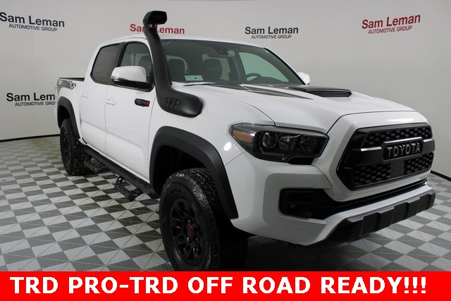 New 2019 Toyota Tacoma Trd Pro With Navigation 4wd