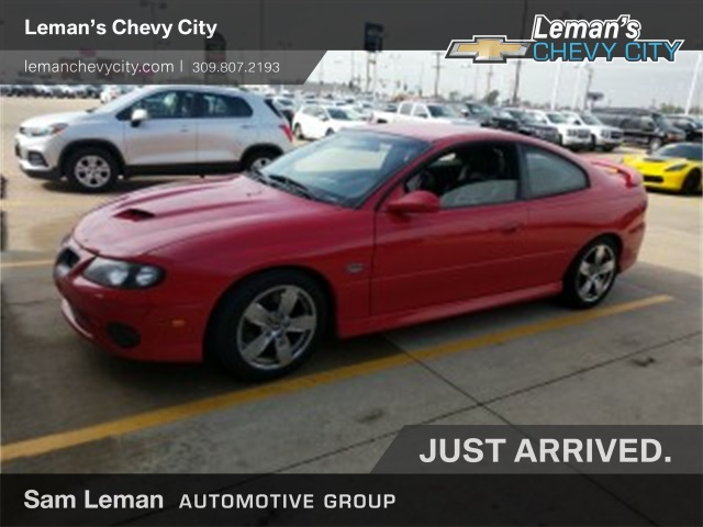 Pre Owned 2005 Pontiac Gto Base 2d Coupe In Bloomington Morton