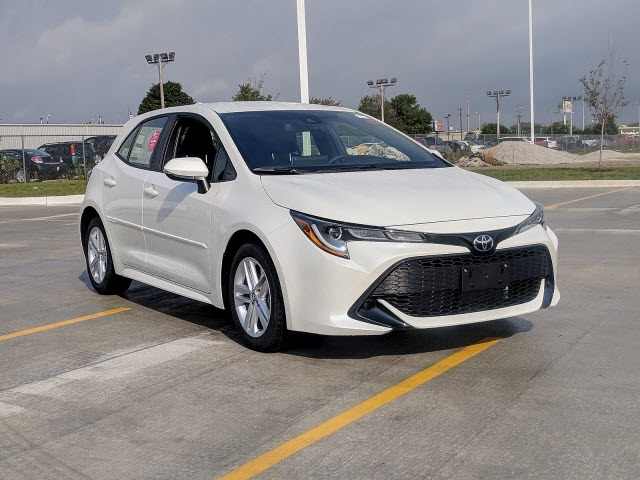 New 2019 Toyota Corolla Hatchback Se 5d Hatchback In Bloomington