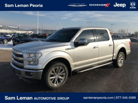 Pre-Owned 2015 Ford F-150 Super Crew Lariat